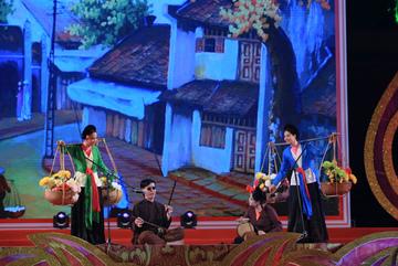 Festival Văn hóa truyền thống Việt 2019 khai mạc hoành tráng tại Hoàng thành Thăng Long
