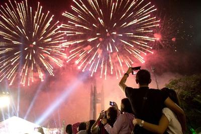 Lễ Quốc khánh 2/9,  TP.HCM tổ chức bắn pháo hoa tại 3 điểm