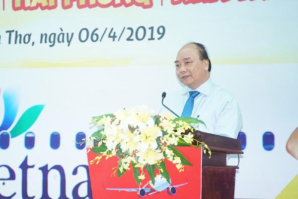 Thủ tướng dự lễ khai trương 5 đường bay mới tại Cần Thơ