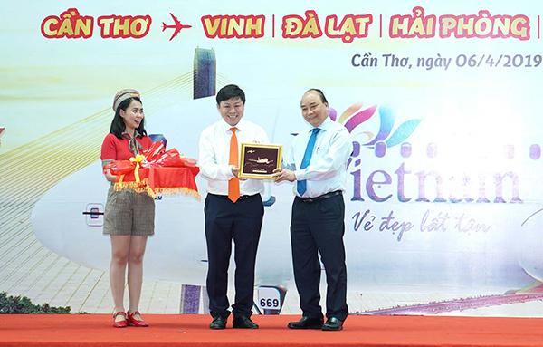 Vietjet khai trương 5 đường bay mới đi, đến Cần Thơ