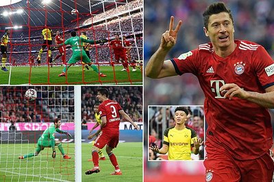"""""""Nghiền nát"""" Dortmund, Bayern chiếm ngôi đầu Bundesliga"""