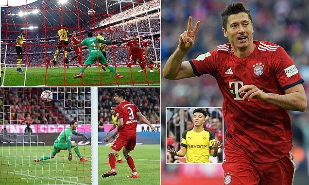 'Nghiền nát' Dortmund, Bayern chiếm ngôi đầu Bundesliga