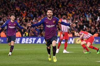 Messi hạ đẹp Atletico, Barca khiêu chiến MU