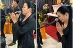 Ngọc Huyền khóc nghẹn trong lễ viếng nghệ sĩ Anh Vũ ở Mỹ