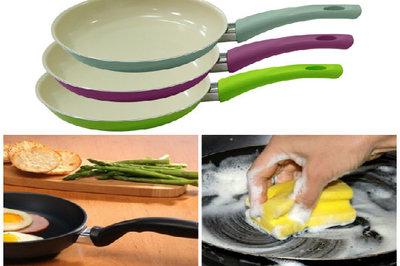 Tuyệt đối không rửa chảo chống dính ngay sau khi nấu, lý do khiến nhiều người giật mình