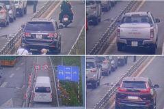 Ô tô đua nhau vào làn xe máy nơi có dải phân cách gây chết người