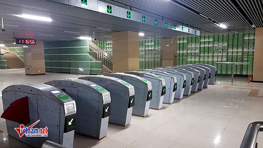 Lý do đường sắt Cát Linh - Hà Đông chưa thể chở khách