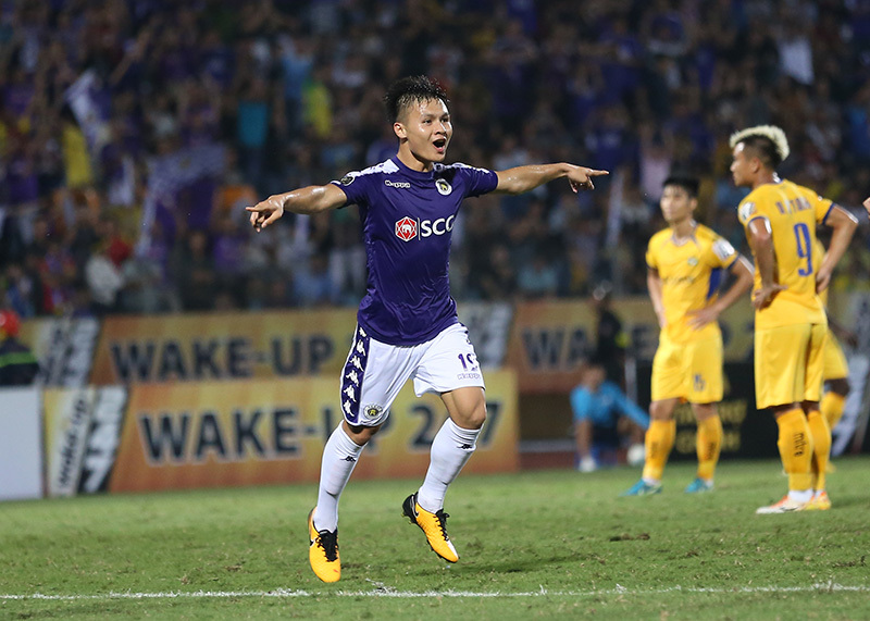 Hà Nội FC,Quang Hải,HLV Chu Đình Nghiêm