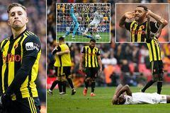Watford ngược dòng ngoạn mục hạ Wolves vào chung kết FA Cup