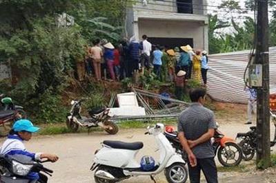 Bé trai sơ sinh nghi bị sát hại, chôn trước nhà kho ở Điện Biên