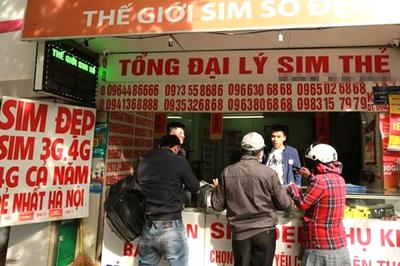 Lãnh đạo nhà mạng để SIM rác lưu hành trên thị trường sẽ bị xử lý