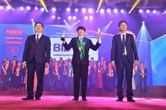 BIDV- Top 10 Doanh nghiệp Thương hiệu mạnh Việt Nam 2018