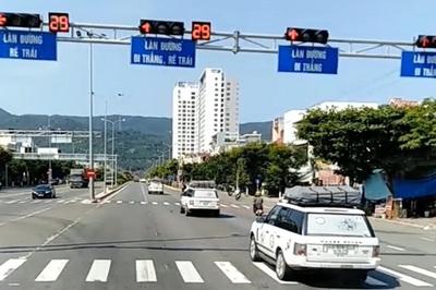 7 xe Range Rover vượt đèn đỏ ở Đà Nẵng: Tước bằng lái mỗi xe 2 tháng