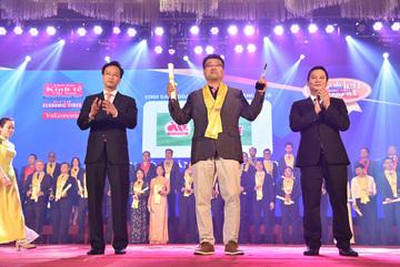 Thực phẩm Đức Việt nhận giải Rồng Vàng 2019