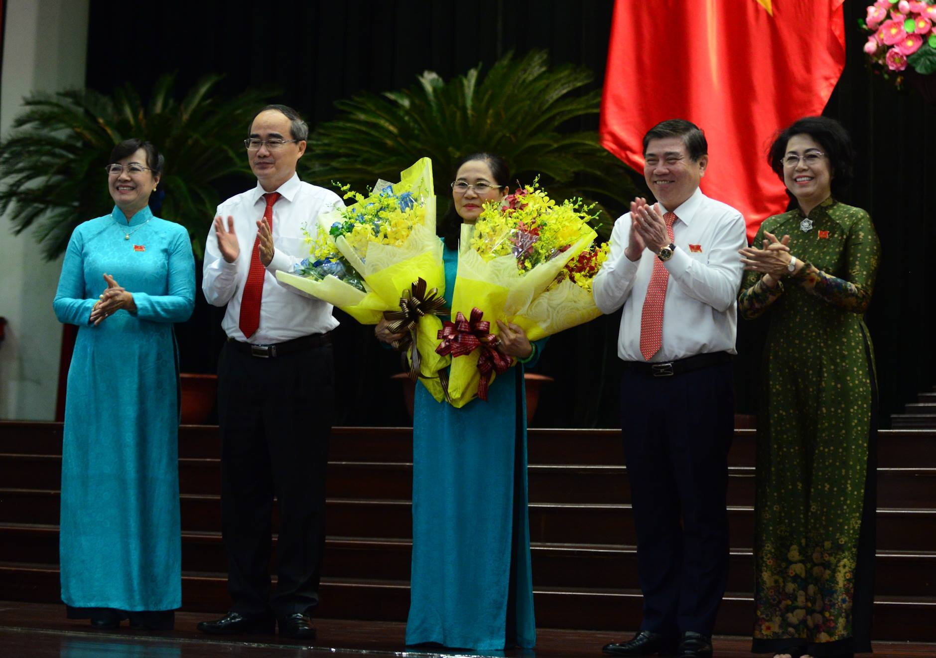 nhân sự,bổ nhiệm cán bộ,Nguyễn Thị Quyết Tâm,Nguyễn Thị Lệ,TP.HCM
