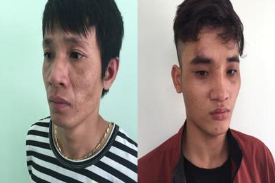 CSGT truy đuổi gần 15km bắt 2 đối tượng cướp điện thoại