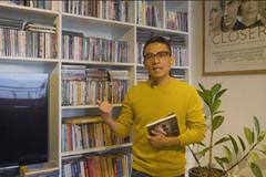 Căn hộ 'anh chàng độc thân' đầy sách của nhà phê bình Lê Hồng Lâm