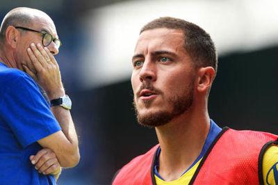 HLV Sarri thừa nhận bất lực nhìn Hazard rời Chelsea sang Real