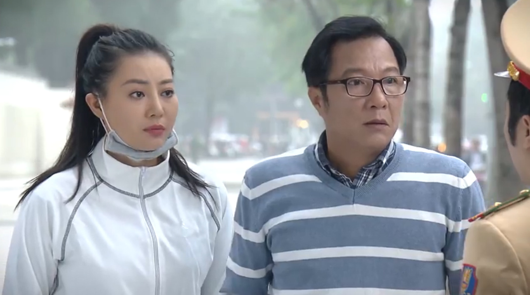 Thanh Hương ngại ngùng đóng cảnh yêu đương nam diễn viên hơn 30 tuổi
