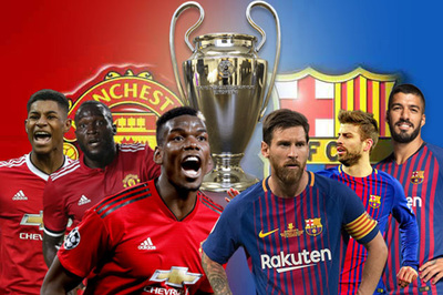 Tứ kết Cúp C1: MU bị Barca loại, Man City cũng ôm hận
