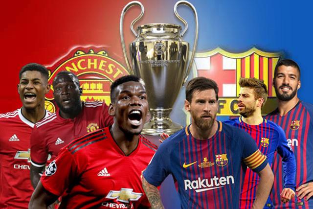 Tứ kết Cúp C1,MU,Man City,Barcelona,Barca,Messi