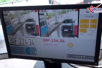 Người dân có thể giám sát thu phí BOT qua smartphone