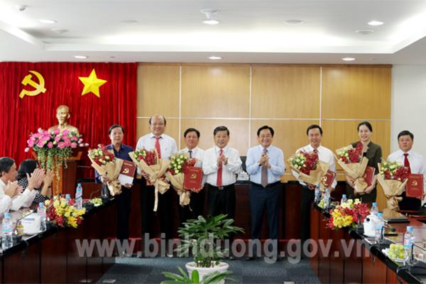 Nhân sự mới TP.HCM, Bình Dương, Thái Bình