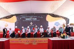 Động thổ tổ hợp nghỉ dưỡng 4.500 tỷ đồng ở Ninh Thuận