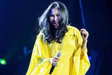 Thanh Lam trình diễn tại lễ trao giải Cống Hiến 2019