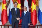 Thủ tướng đón, hội đàm với Thủ tướng Vương quốc Hà Lan