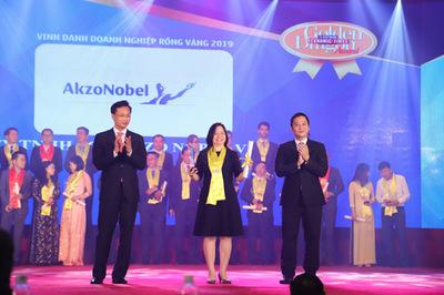 AkzoNobel năm thứ 6 liên tiếp nhận giải thưởng Rồng Vàng