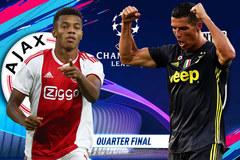 Ajax vs Juventus: Hiểm nguy rình rập