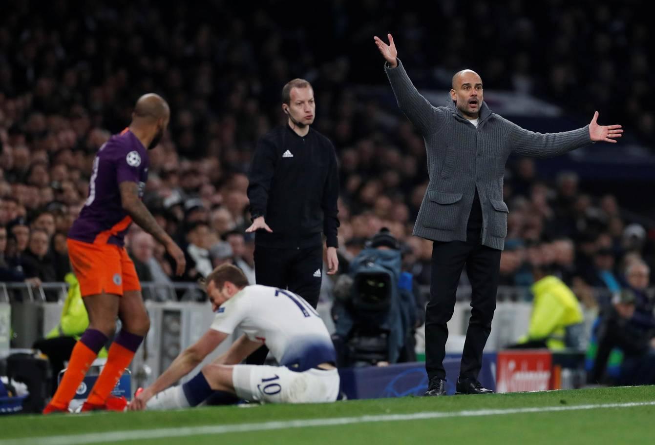 Guardiola: 'Vượt qua Tottenham là thách thức lớn'