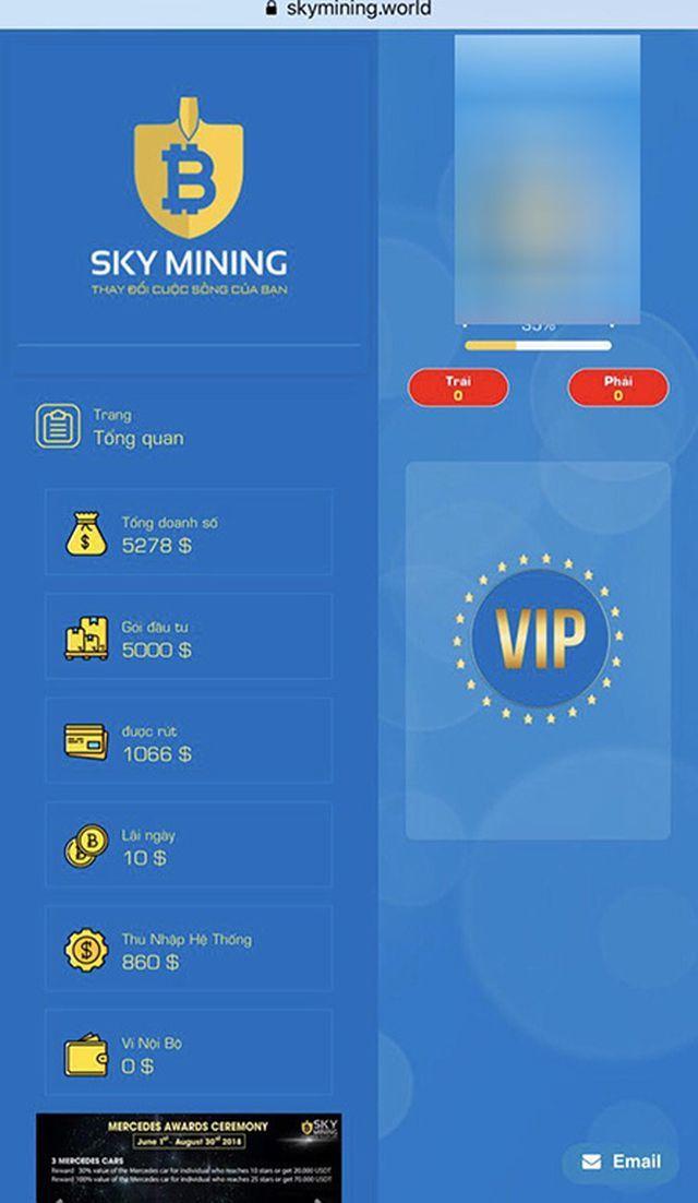 Vụ công ty 'tiền ảo' Sky Mining bỏ trốn: Hàng trăm nhà đầu tư chấp nhận mất hàng ngàn tỷ