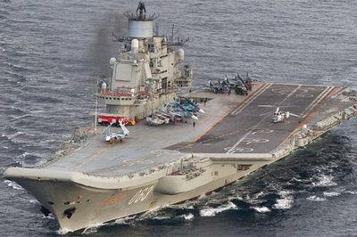 Tai ương liên tiếp bủa vây tàu sân bay duy nhất của Nga