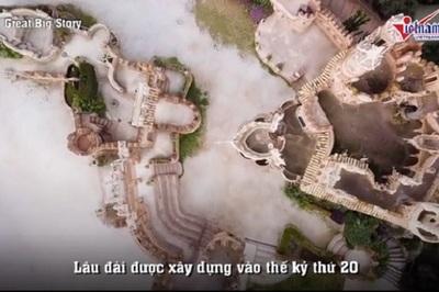Bác sĩ Tây Ban Nha xây lâu đài đồ sộ để tưởng nhớ thần tượng