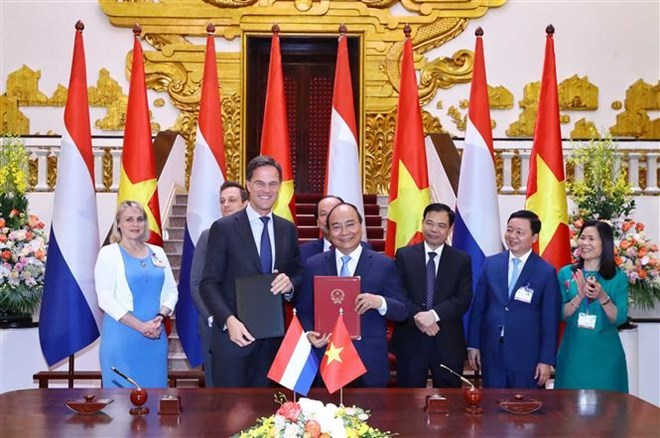 Vietnam, Netherlands agree to lift ties to comprehensive partnership