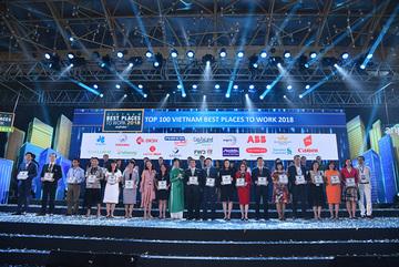 VNG vào Top 100 nơi làm việc tốt nhất Việt Nam