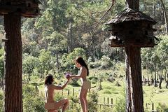 Couple criticised for taking nude wedding photos in Da Lat
