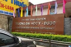 ĐH Y dược Thái Nguyên họp khẩn việc Hiệu phó gian lận nghiên cứu khoa học