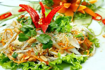 Nghỉ lễ 30/4 nếu đến Thái Bình hãy thưởng thức món gỏi sứa