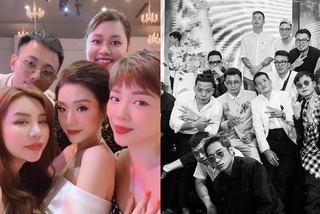 Tóc Tiên, Hoàng Touliver dự tiệc cưới rapper Rhymastic
