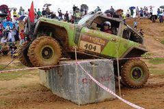 Đua xe địa hình trên cao nguyên đá Hà Giang