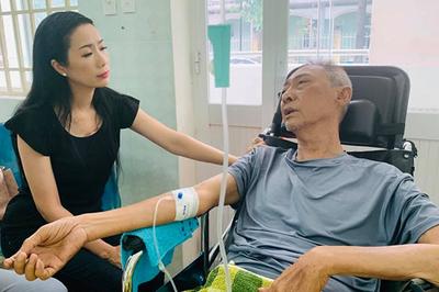 Bị hoại tử, thân dưới mất cảm giác, sức khỏe nghệ sĩ Lê Bình chuyển biến xấu