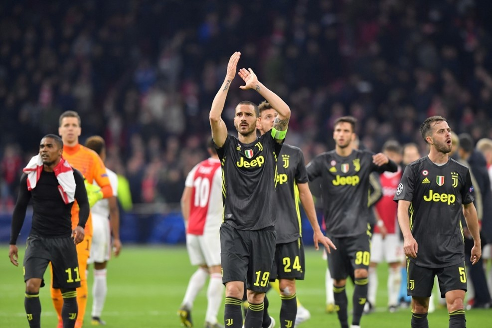 Ronaldo,Ajax,Juventus