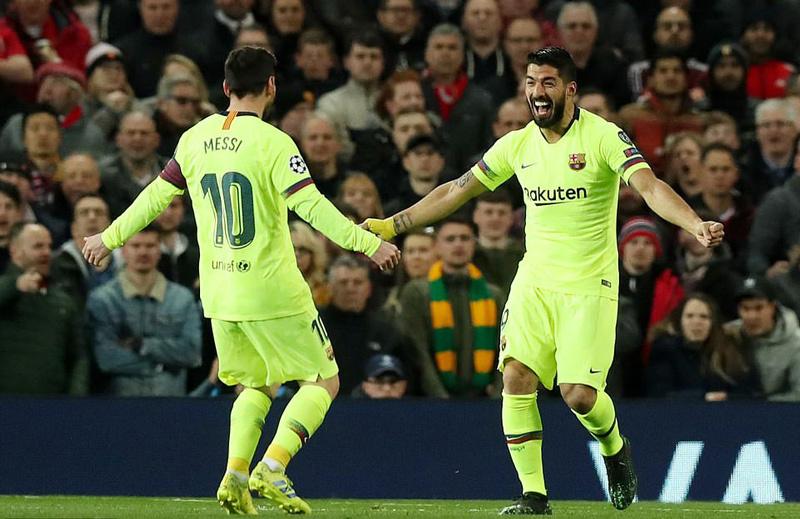 Hạ gục MU, Barca mở toang cửa vào bán kết