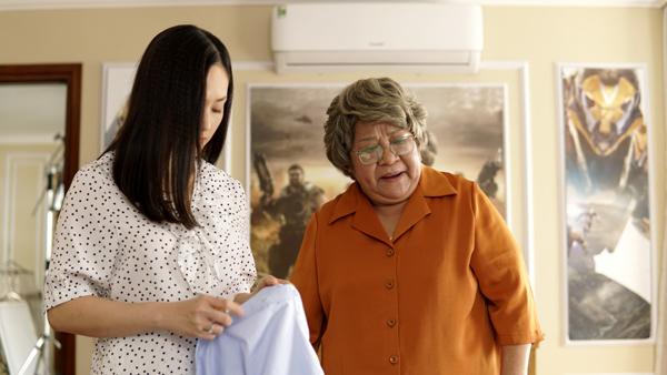 Bà nội quái chiêu gây bão trên VTV làm hội chị em sợ lấy chồng