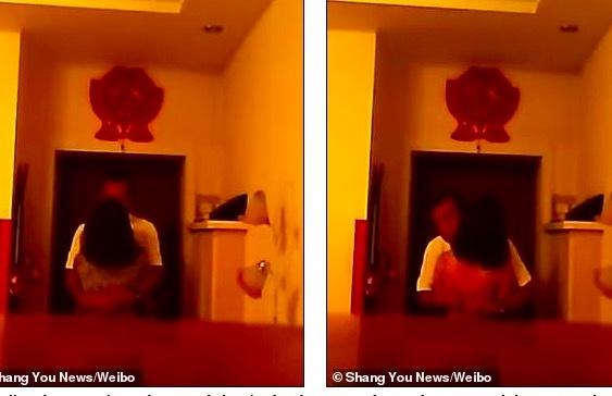 Quên máy quay ở nhà, phát hiện vợ tằng tịu với bạn thân
