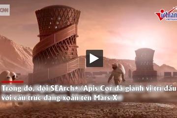 Những mẫu nhà phù hợp với sự sống trên sao Hỏa