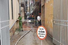 Hà Nội: Người đàn ông nhảy khỏi nhà 5 tầng đang cháy thoát thân